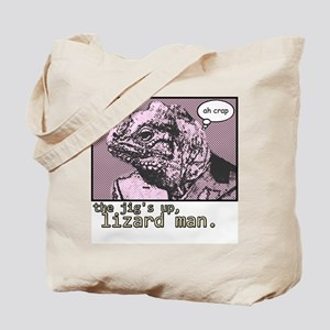 The Jig's Up Tote Bag