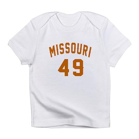 Missouri 49 Birthday Designs Infant T-Shirt