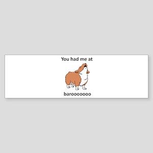 Baroo Sticker (Bumper)