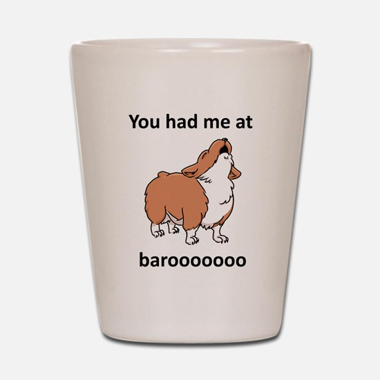Baroo Shot Glass