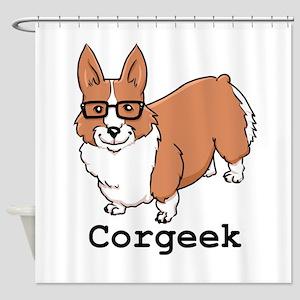 Corgeek Shower Curtain