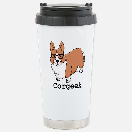 Corgeek Stainless Steel Travel Mug