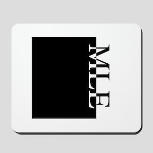 MLE Typography Mousepad