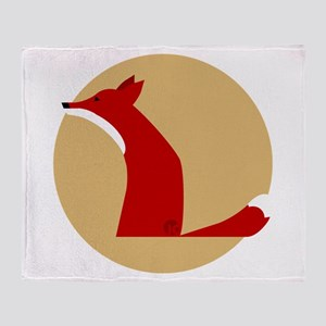 Fox Throw Blanket