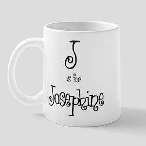J Is For Josephine Mug