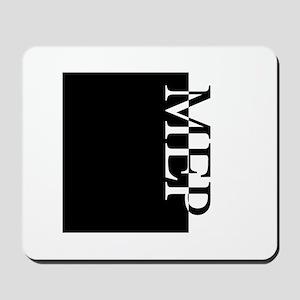 MEP Typography Mousepad