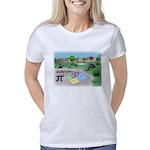 Pi_65 Fibonacci Hopscotch  Women's Classic T-Shirt