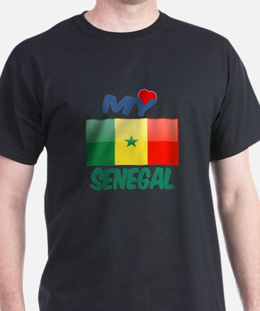 My Love Senegal T-Shirt