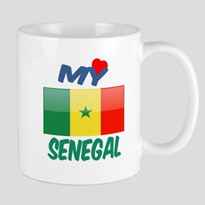 My Love Senegal 11 oz Ceramic Mug