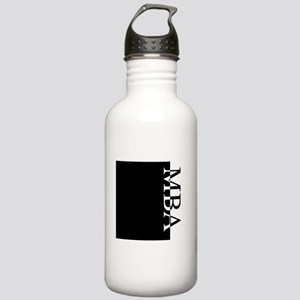 MBA Typography Stainless Water Bottle 1.0L