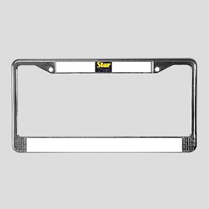 startdust License Plate Frame