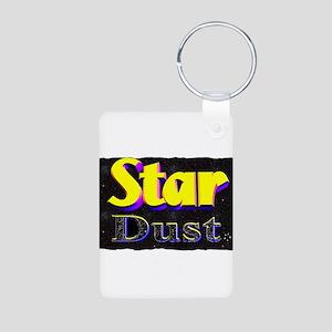 startdust Aluminum Photo Keychain