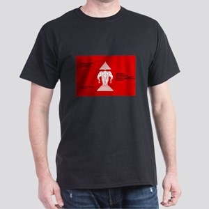 Laos - old flag meaning Dark T-Shirt