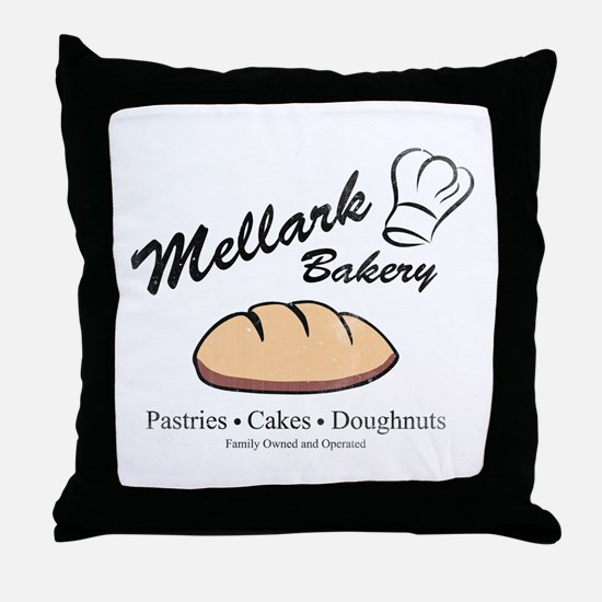 HG Mellark Bakery Throw Pillow