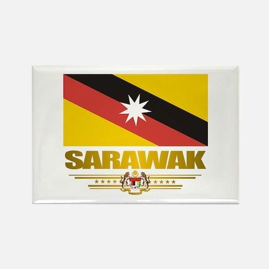 """""""Sarawak"""" Rectangle Magnet"""