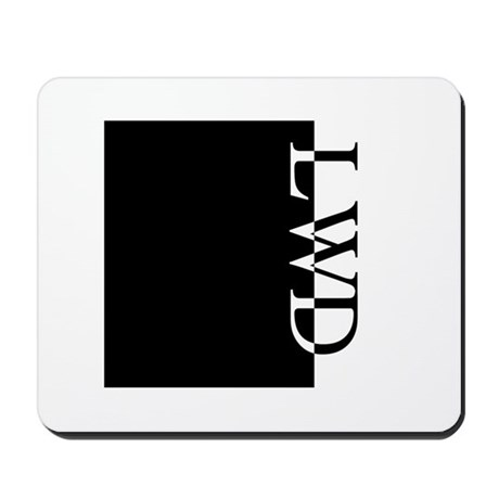 LWD Typography Mousepad