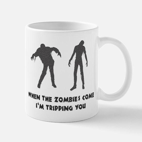 When Zombies Come Trip Mug