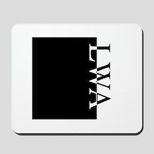 LWA Typography Mousepad