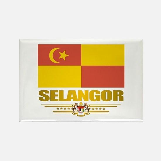 """Selangor"" Rectangle Magnet"