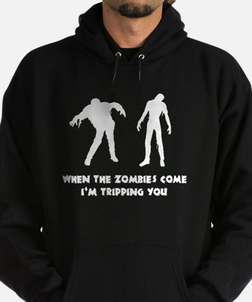 When Zombies Come Trip Hoodie (dark)