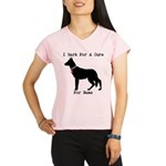 German Shepherd Personalizable I Bark For A Cure P