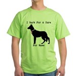German Shepherd Personalizable I Bark For A Cure G