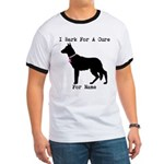 German Shepherd Personalizable I Bark For A Cure R