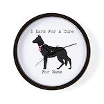 German Shepherd Personalizable I Bark For A Cure W
