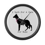 German Shepherd Personalizable I Bark For A Cure L