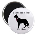 German Shepherd Personalizable I Bark For A Cure 2