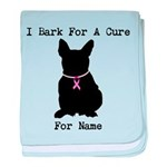 French Bulldog Personalizable I Bark For A Cure ba