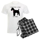 Fox Terrier Personalizable I Bark For A Cure Men's