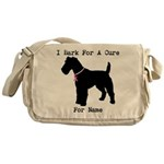 Fox Terrier Personalizable I Bark For A Cure Messe