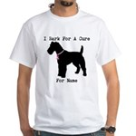 Fox Terrier Personalizable I Bark For A Cure White
