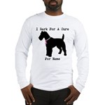 Fox Terrier Personalizable I Bark For A Cure Long