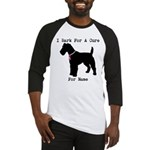 Fox Terrier Personalizable I Bark For A Cure Baseb