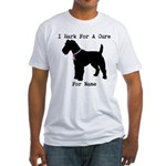 Fox Terrier Personalizable I Bark For A Cure Fitte