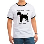 Fox Terrier Personalizable I Bark For A Cure Ringe