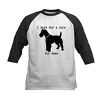 Fox Terrier Personalizable I Bark For A Cure Kids