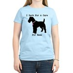 Fox Terrier Personalizable I Bark For A Cure Women