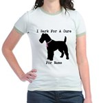 Fox Terrier Personalizable I Bark For A Cure Jr. R