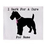Fox Terrier Personalizable I Bark For A Cure Stad