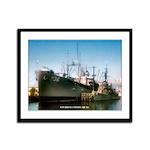 USS BRYCE CANYON Framed Panel Print