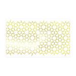 Gold Islamic Art Star Pattern 38.5 x 24.5 Wall Pee
