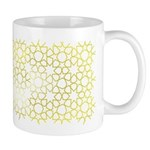 Gold Islamic Art Star Pattern Mug