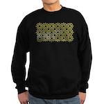 Gold Islamic Art Star Pattern Sweatshirt (dark)