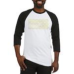 Gold Islamic Art Star Pattern Baseball Jersey