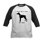 Doberman Personalizable I Bark For A Cure Kids Bas