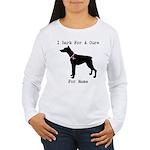Doberman Personalizable I Bark For A Cure Women's