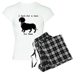 Dachshund Personalizable I Bark For A Cure Women's